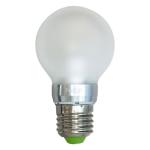 Лампа светодиодная, 10LED(5W) 230V E27 4000K матовая, LB-42
