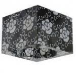 Светильник потолочный, JCD G9 черный фон - белый рисунок, с лампой, CD6038