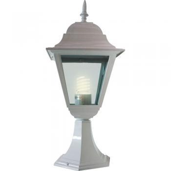 Светильник садово-парковый, 100W 230V E27 белый, 4204