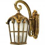 Светильник садово-парковый, 60W 230V E27 черное золото, PL103
