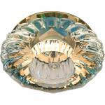 Светильник потолочный, JCD9 35W G9 с прозрачным стеклом, золото, JD88