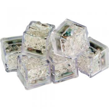 Светодиодный лёд садово-парковый набор 6 штук, мульти, FL101