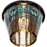 Светильник потолочный, JCD9 G9 прозрачный, желтый, с лампой, JD150