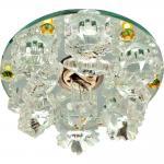 Светильник потолочный JCD9 Max35W G9 прозрачный-желтый, прозрачный, 1540