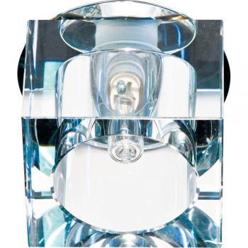 Светильник потолочный, JCD G9 с прозрачным стеклом, хром, с лампой, JD57B