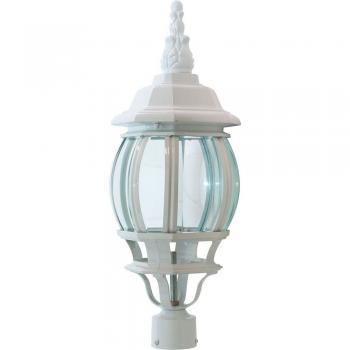 Светильник садово-парковый, 100W 230V E27 белый, 8103