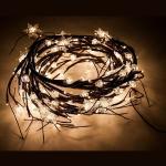 Гирлянда-ветка 200 LED (теплый белый) 1,8 м, CL112