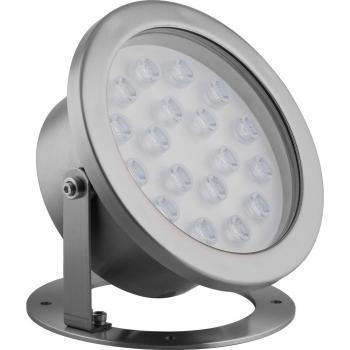 Светодиодный прожектор подводный ЛЮКС, D210xH220, IP68 18W 24V RGB,LL-874 , артикул 32039