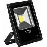 Прожектор светодиодный 1COB LED 10W 800LM 6400K AC220V/50Hz, 115*85*40mm IP65, с кабелем длиной 30см, черный, LL-846
