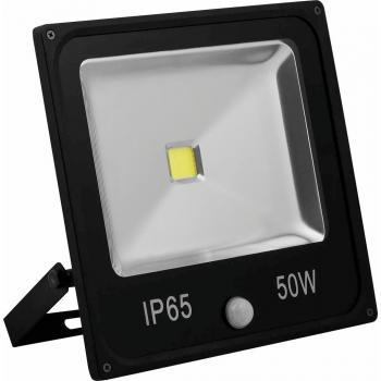 Светодиодный прожектор Feron с встроенным датчиком LL-863 IP65 50W 6400K