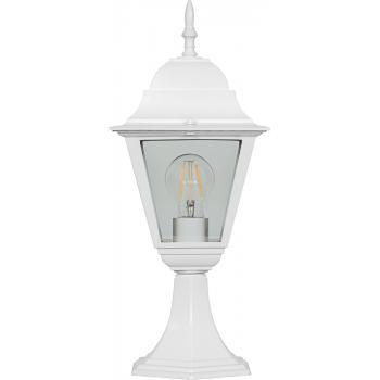 Светильник садово-парковый, 60W 230V E27 белый, 4104