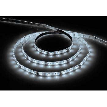 Лента светодиодная, 60SMD(5050)/m 14.4W/m 12V 5m белый на белом основании, LS606