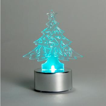 Световая фигура 3V, 1 LED, белый цвет свечения, высота: 8 см, батарейка CR2032, IP20, LT059