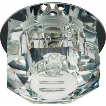Светильник потолочный, JCD9 35W G9 прозрачный,хром, JD162