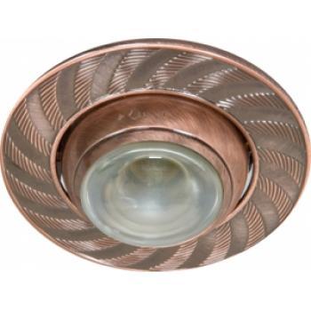 Светильник потолочный, R50 E14 античная медь, AL2004