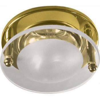 Светильник потолочный, R63 Е27 Встраиваемые, золото, 1788
