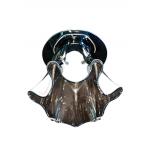 Светильник потолочный, JCD9 40W G9 с хромовым стеклом, хром, CD2214
