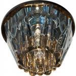 Светильник потолочный,JCD9 35W G9, прозрачный,хром,JD156