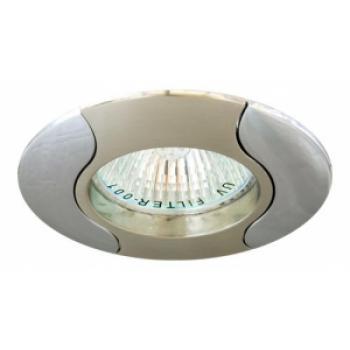 Светильник потолочный, MR11 G4.0 серый-хром, 020Т-MR11