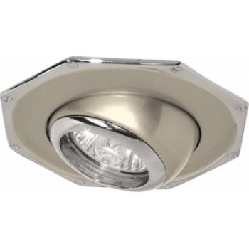 Светильник потолочный, MR16 G5.3 титан-хром, 305-MR16