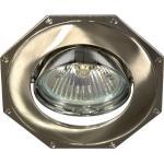 Светильник потолочный, MR16 G5.3 титан-хром, 305T-MR16