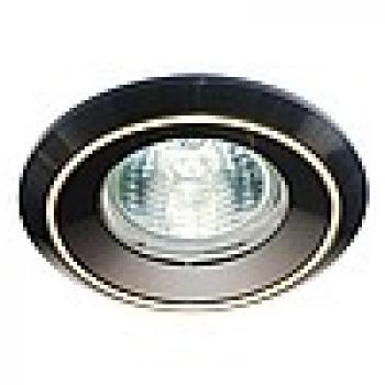 Светильник потолочный, MR16 G5.3 черный-хром,DL1023