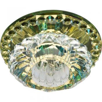Светильник точечный JD125 JCD9 35W G9 прозрачный, желтый