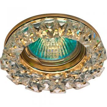 Светильник потолочный, MR16 50W G5.3 с прозрачным стеклом, хром, с лампой, CD2151