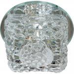 Светильник встраиваемый со светодиодной подсветкой 2.5W 4000K JCD9 35 W 230V/50Hz G9, прозрачный, прозрачный, JD185