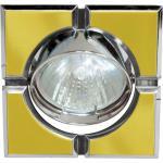 Светильник потолочный, MR16 G5.3 золото-хром, 098T-MR16-S