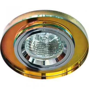 Светильник потолочный, MR16 G5.3 7-мультиколор, серебро (перламутр), 8060-2