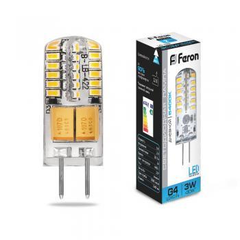 Лампа светодиодная Feron LB-422 G4 3W 6400K