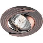 Светильник встраиваемый Feron DL6227 потолочный MR16 G5.3 античная медь поворотный