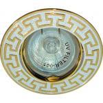 Светильник потолочный, MR16 G5.3 серебро-золото, DL2008