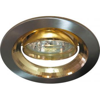 Светильник потолочный, MR16 G5.3 титан-золото, DL2009