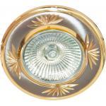 Светильник потолочный, MR16 G5.3 титан-золото, DL246