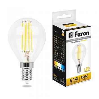 Лампа светодиодная, (5W) 230V E14 2700K, LB-61