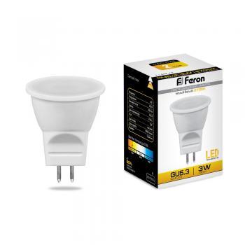 Лампа светодиодная, (3W) 230V G5.3 2700K, LB-271