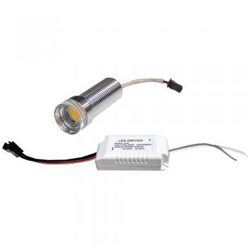 LB-1778, светодиодный чип с драйвером, 10W 600Lm 2700K
