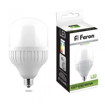 Лампа светодиодная Feron LB-65 E27-E40 60W 4000K