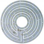 Светодиодный модуль на алюм.основании, 12W 24LED SMD5730 750Lm 6400K D185mm, LB-1222