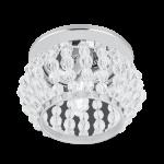 Светильник Gauss Brilliance CR047, Кристал/Хром, Gu5.3 1/50