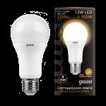 Лампа светодиодная Gauss LED общего назначения 12W 2700K (теплый свет)