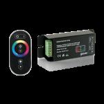 Контроллер для RGB 144W 12А с сенсорный пультом управления цветом (черный)