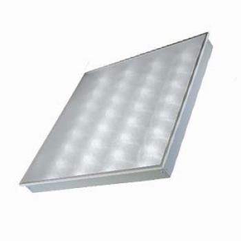 Офисный светодиодный встраиваемый / накладной светильник