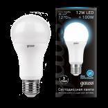 Лампа светодиодная Gauss LED общего назначения 12W 4100K (нейтральный свет)