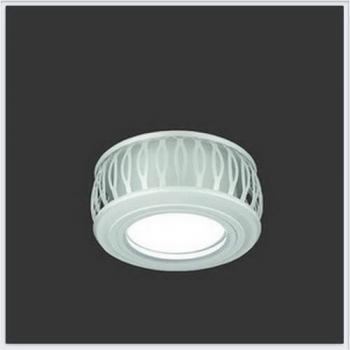 Светильник Gauss Backlight BL094 Кругл. Белый/Белый, Gu5.3, 3W, LED 3000K 1/30