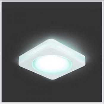 Светильник Gauss Backlight BL105 Квадрат. Белый, 8W, LED 4000K 1/60