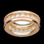 Светильник Gauss Brilliance CR049, Кристал/Золото, Gu5.3 1/50