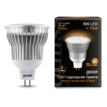 Лампа светодиодная Gauss LED MR16 8W GU5.3 AC220-240V 2700K (теплый свет)
